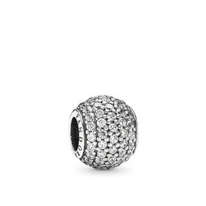 Pandora Pavé Lights Charm, Clear